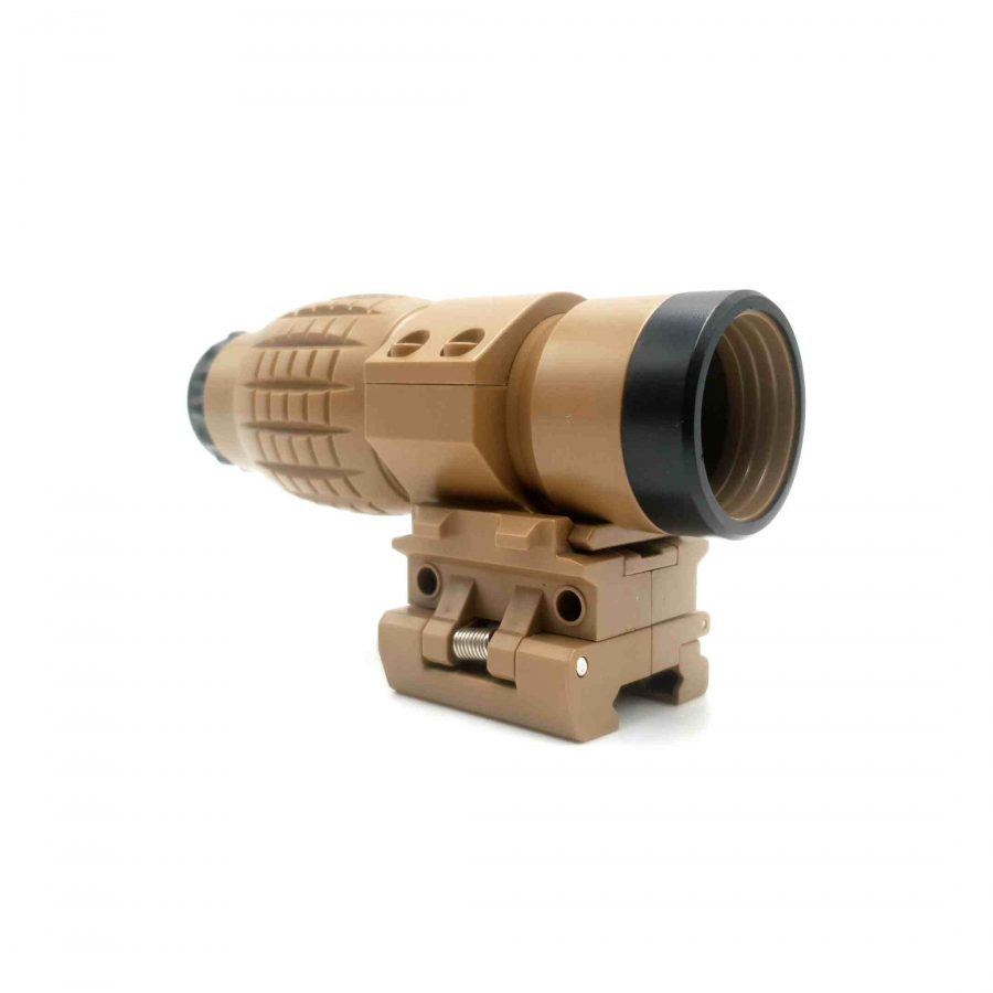 6x Magnifying Quick Release Rollover Pineapple Sight (Tan) Renegade Blasters