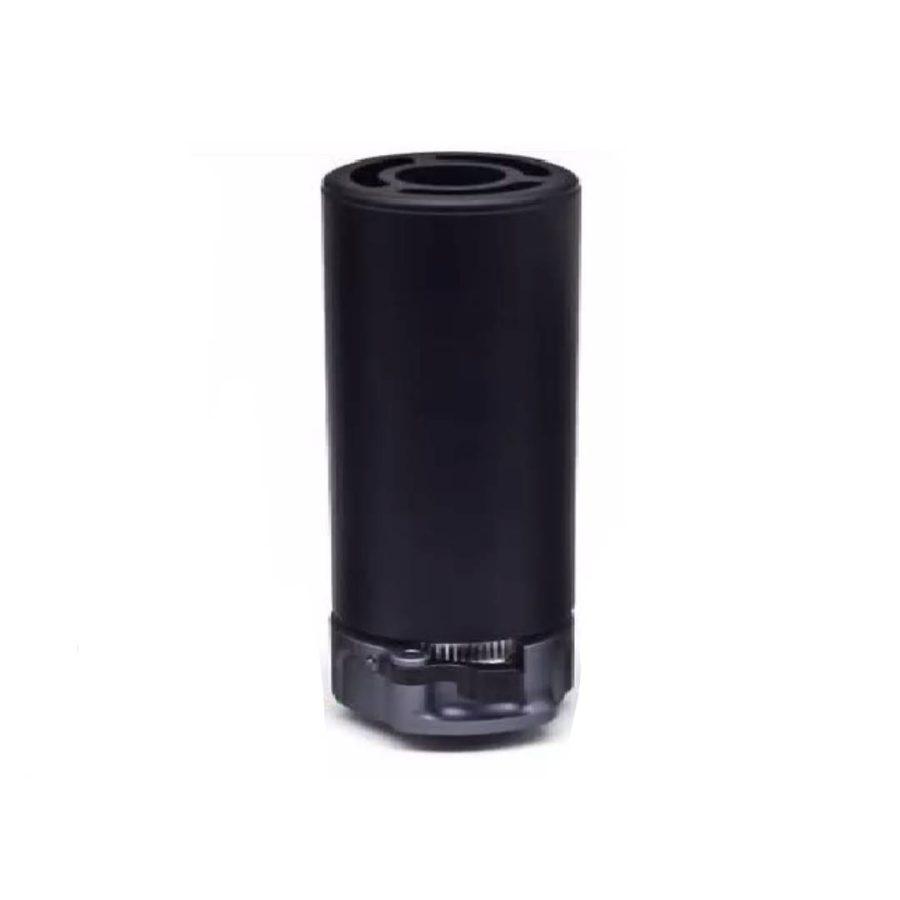 WARDEN 5 inch Metal Suppressor (Black) Renegade Basters