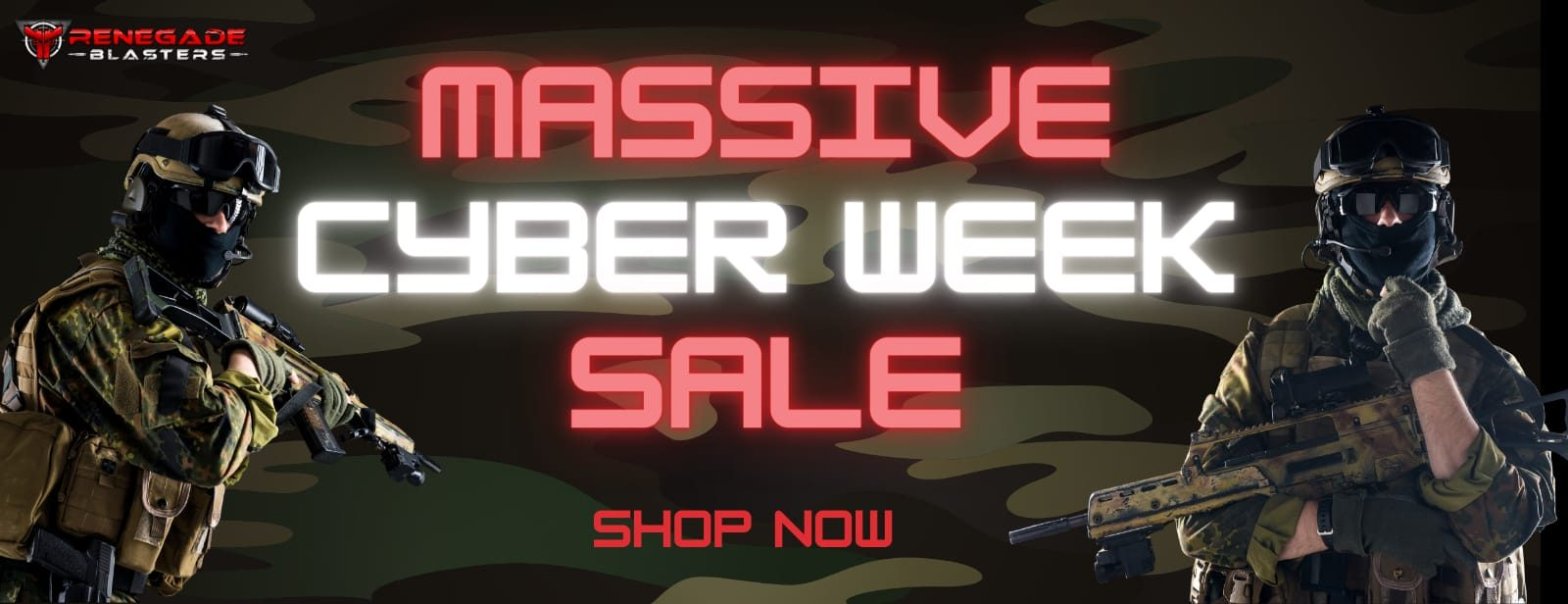 Massive Gel Blaster sale