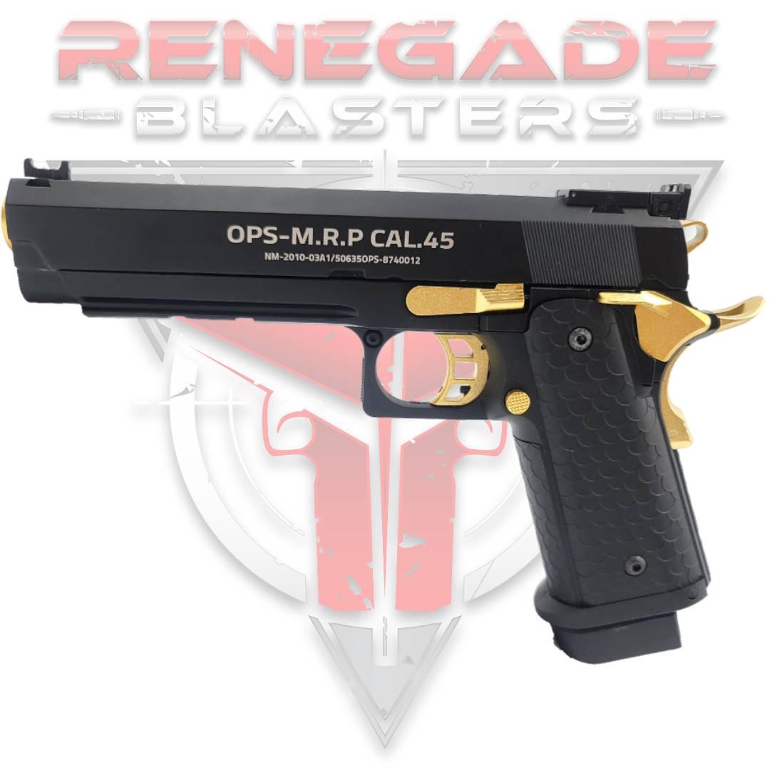 DB TTI 2011 Hi Capa 5.1 Gas Powered Gel Blaster - Renegade Blasters