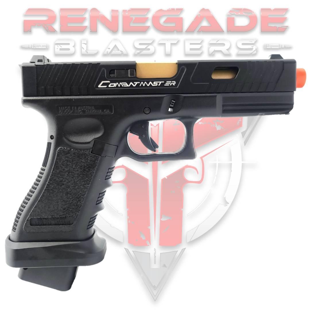 TTI COMBAT MASTER GLOCK G17 Gas Powered Gel Blaster - Renegade Blasters