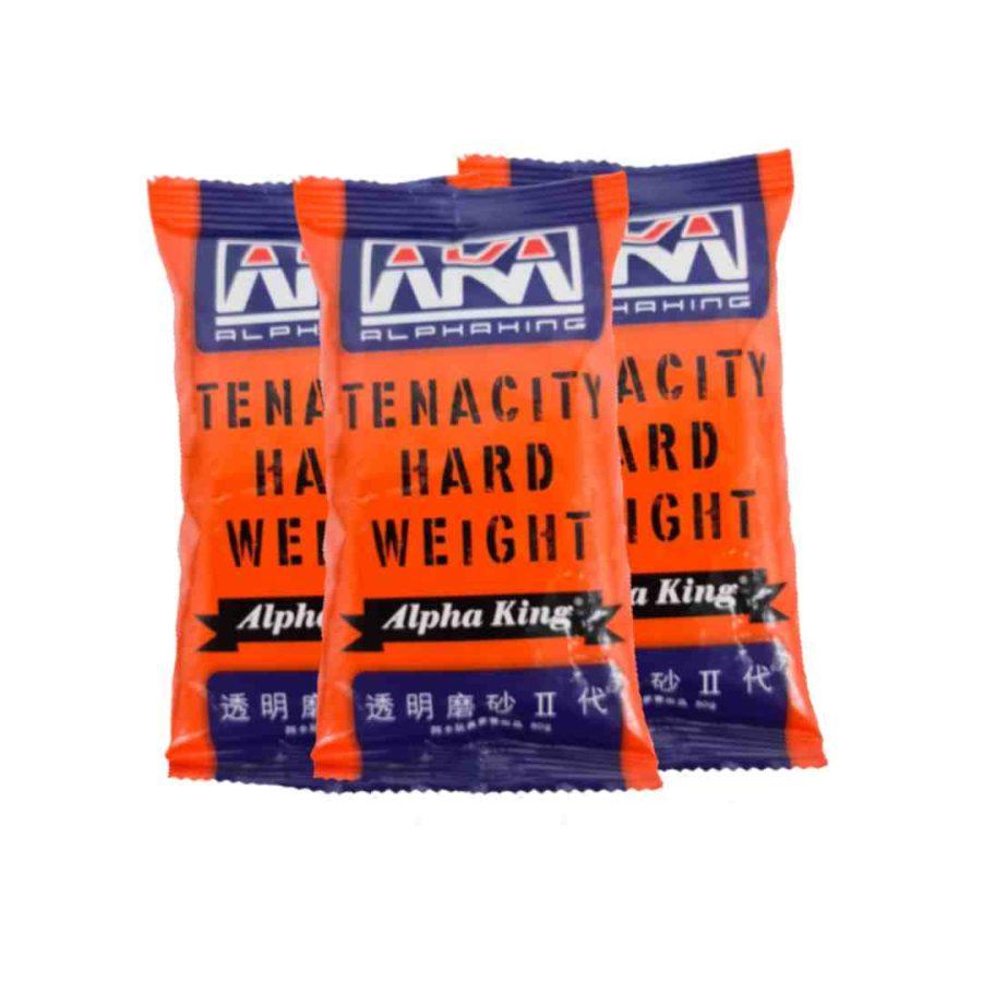 AKA Alpha King 7-8mm Tenacity Hard Weight White Gel Balls - Renegade Blasters