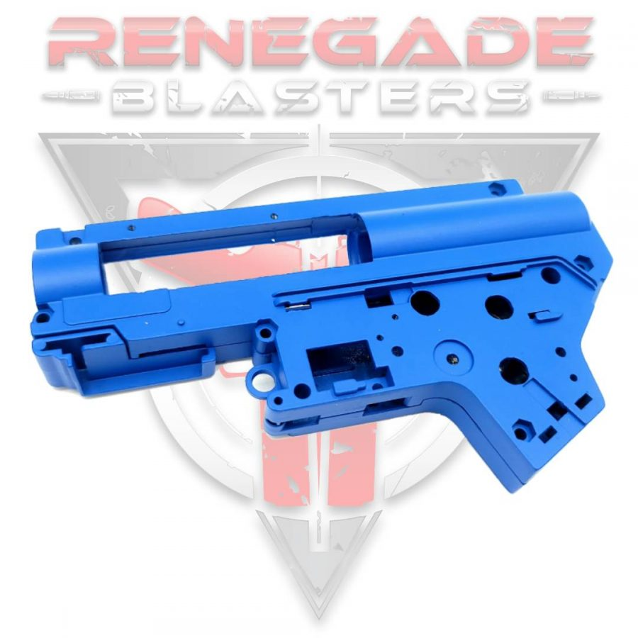 Metal Blue V2 Gearbox Shell for HK416 / FB / SLR / HLF / XYL ARP9 Renegade Blasters