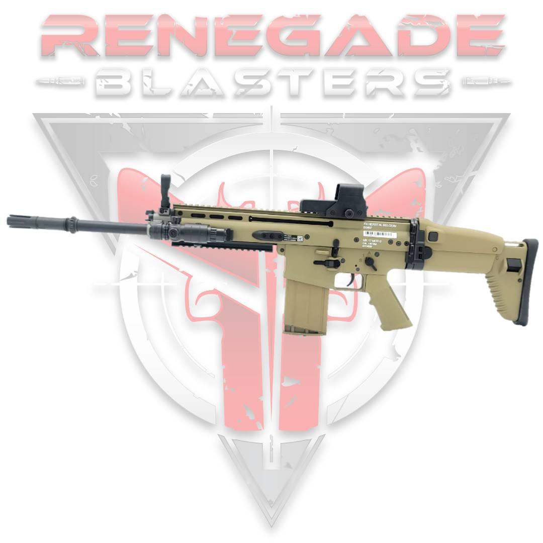 HeE MK17 SCAR Gel Blaster - Renegade Blasters