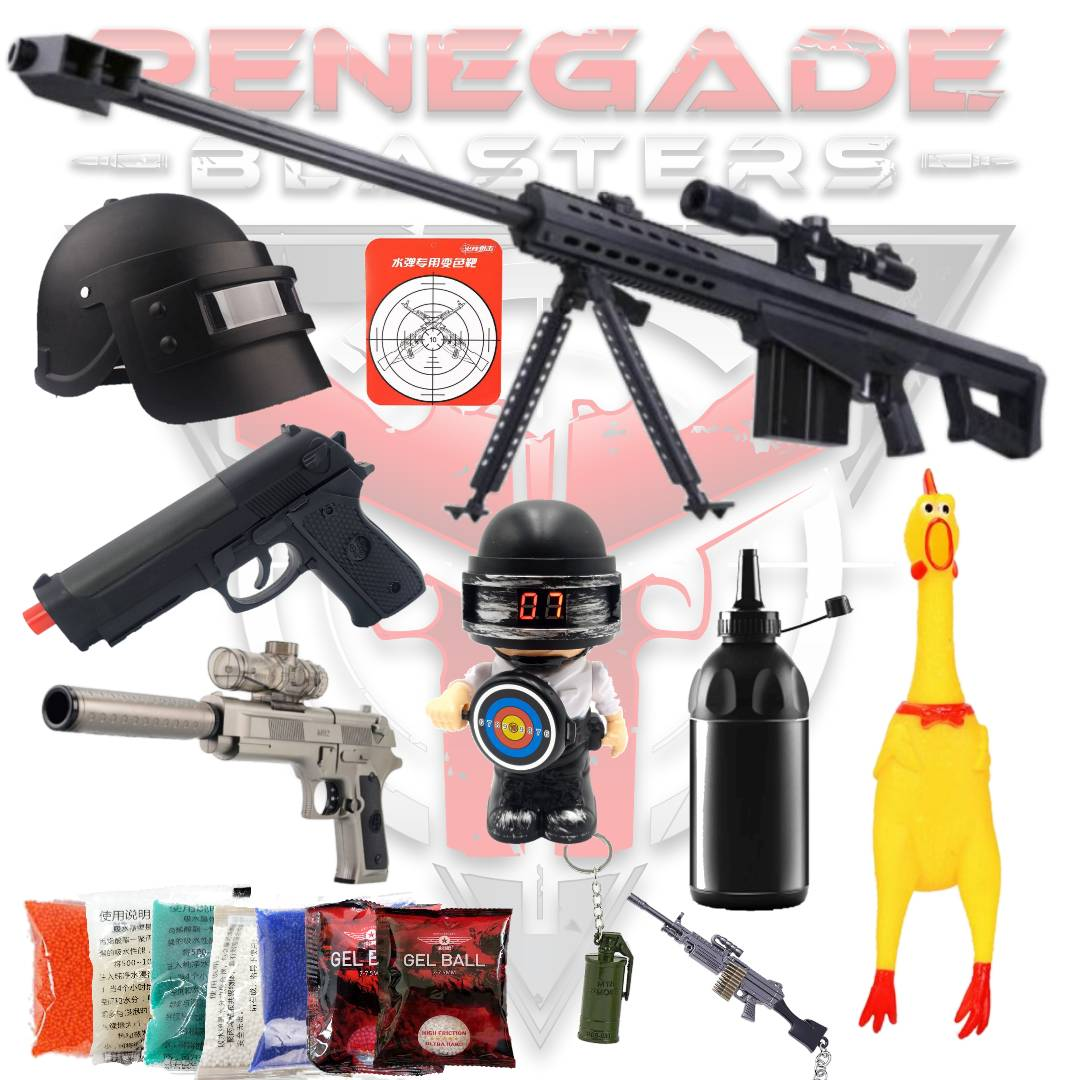 ZeHua Barrett M82A1 (50 Cal) Combo Pack