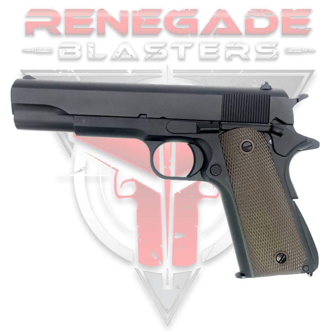 Golden Eagle 3305 GM1911 Full Metal Gas Powered Gel Blaster Hi-Capa v4.3