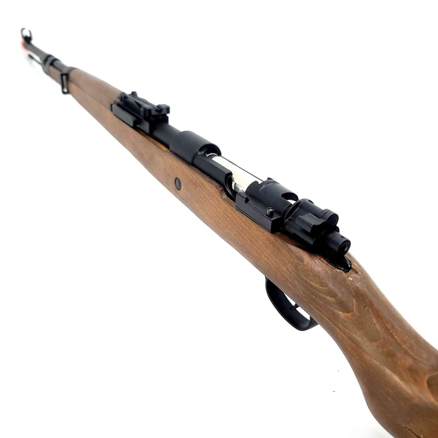 DOUBLE BELL Kar98K Gas Powered Gel Blaster Sniper (Real Wood) Renegade Blasters