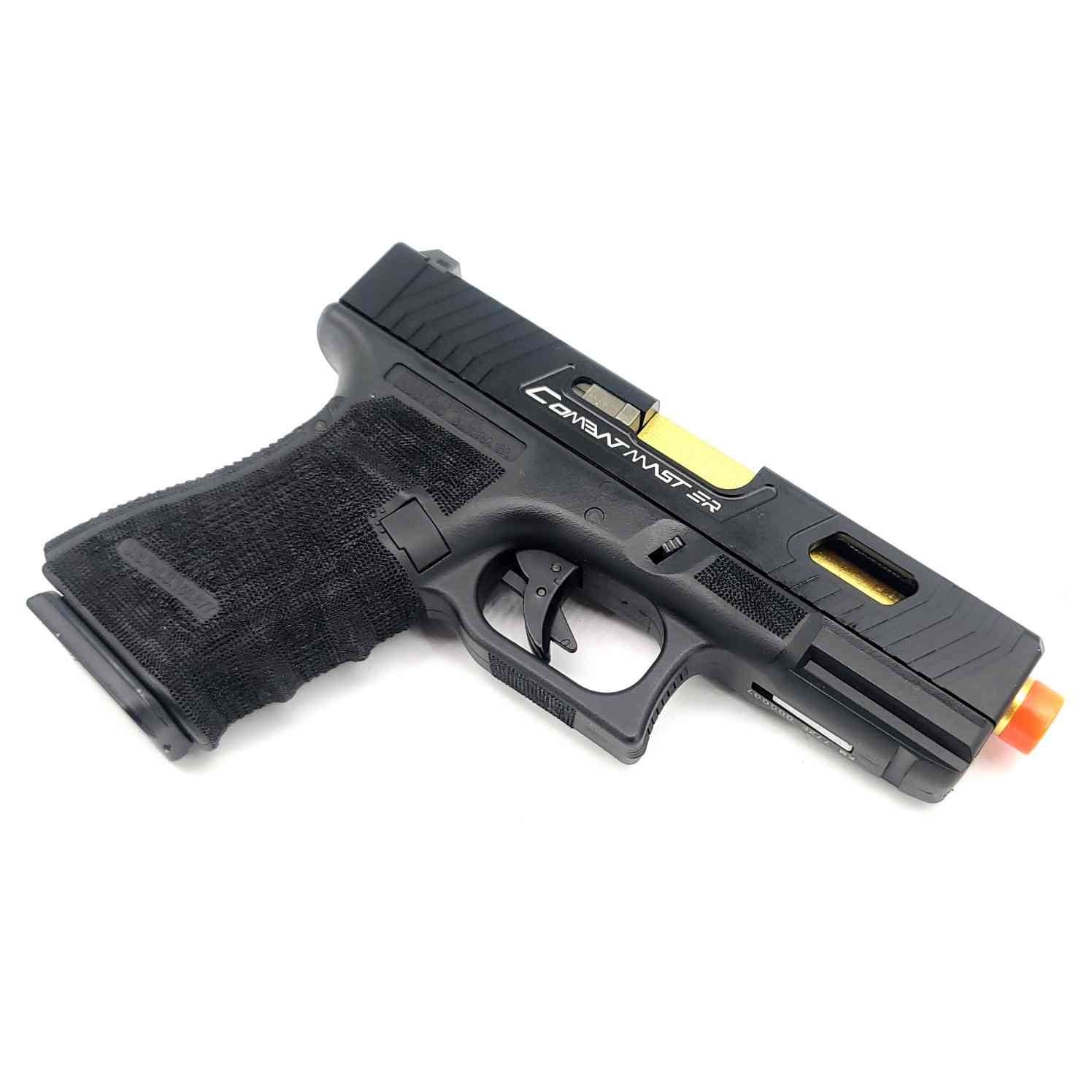 DOUBLE BELL Glock G19 TTI John Wick 2 Combat Master Custom Gas Powered Gel Blaster [772E] Renegade Blasters