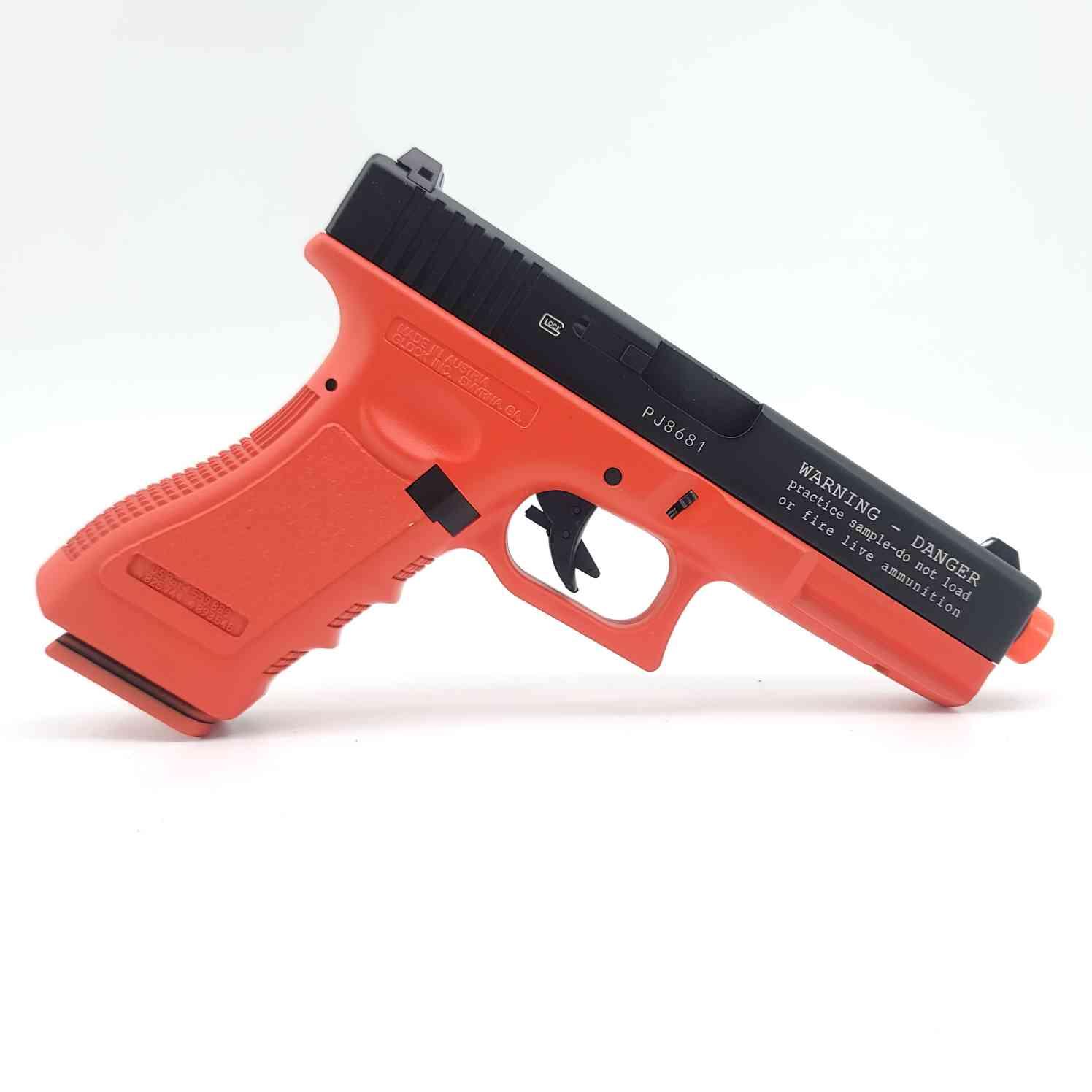 DOUBLE BELL Glock G17P Gen5 SpeedQB Gas Powered Gel Blaster RED [721-3] Renegade Blasters