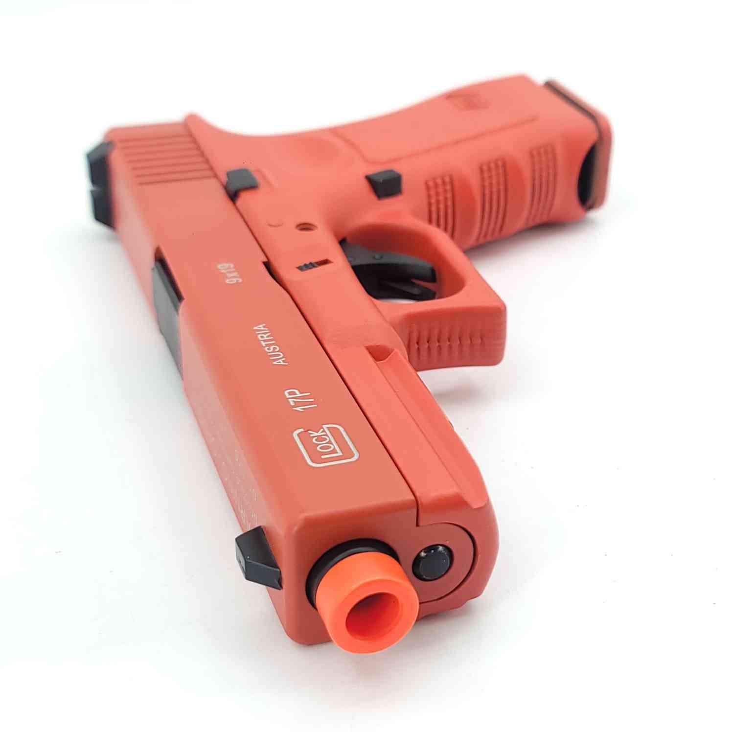 DOUBLE BELL Glock G17P Gen5 SpeedQB Gas Powered Gel Blaster RED [721-2]