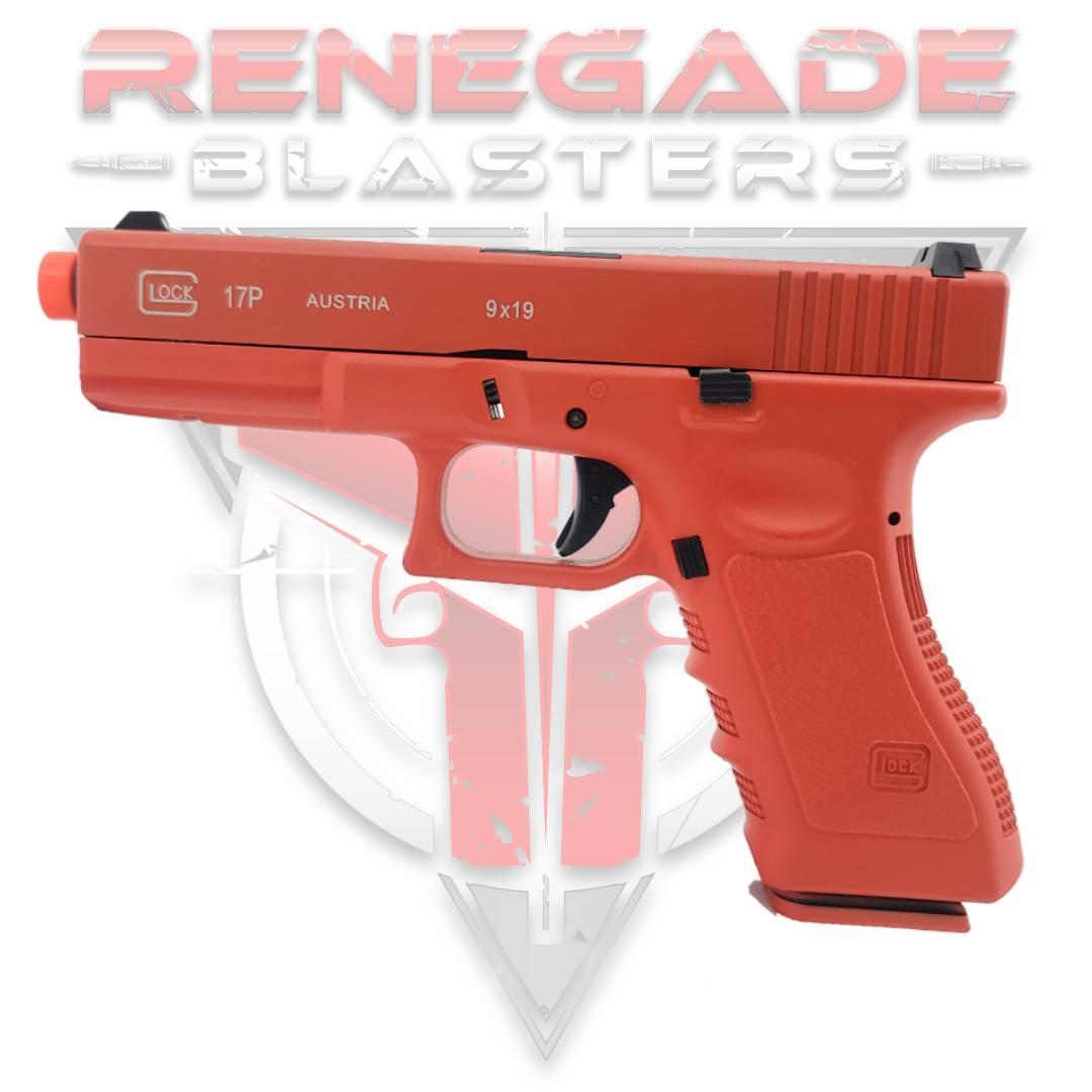 DOUBLE BELL Glock G17P Gen5 SpeedQB Gas Powered Gel Blaster RED [721-2] Renegade Blasters